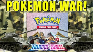 Pokemon Sword and Shield Booster Box Opening War! by The Pokémon Evolutionaries