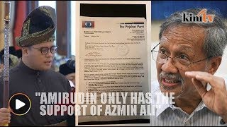 New Selangor MB only has the support of Azmin Ali, says Idris