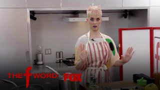 Gordon Ramsay Guides Katy Perry In Cooking But Only With His Voice   Season 1 Ep. 3   THE F WORD