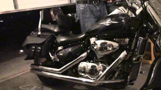 4. 2006 Suzuki Boulevard C90 with 2.5in Road Burner Street Pros