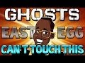 "COD Ghosts: ""MC HAMMER"" Stop Hammer Time Easter Egg (Call of Duty Ghosts Secrets)"