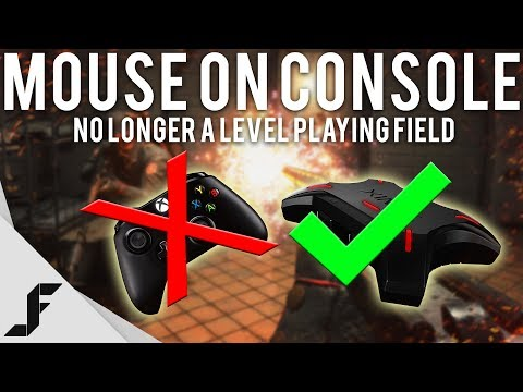 MOUSE ON CONSOLE - No longer a level playing field (видео)