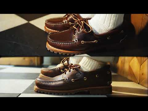 Timberland Icon Boat Shoes видео