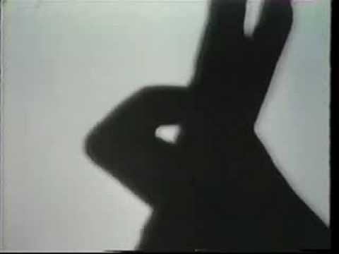 Sesame Street - shadow puppet (rabbit)