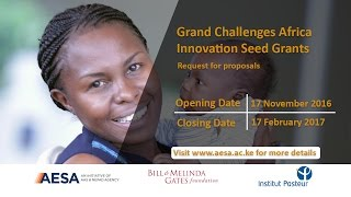 Grand Challenges Africa Grants