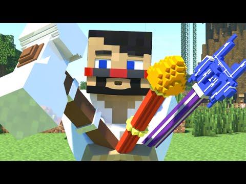 TOO MUCH POWER (Minecraft Animation) (видео)