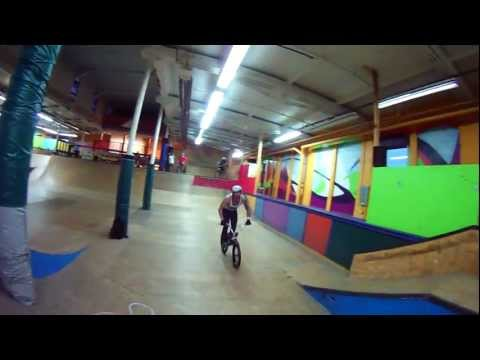 BMX Indoor Park 1080p Action - Drift HD