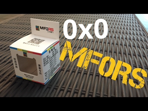 0x0 Cube Unboxing - MoYu MF0RS | Short Review