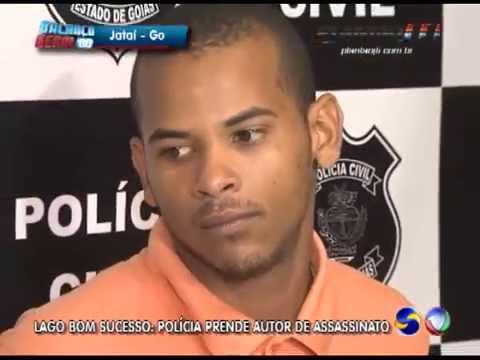 PRISÃO DO ACUSADO DE HOMICÍDIO NO LAGO BOM SUCESSO EM JATAÍ