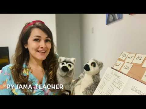 Pyjama Teacher #20 'ph' sound,The Naughty Bus and Place Value (5-7 year old learning)