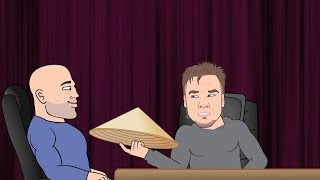 Theo Von's Different Hats Moment - JRE Toon