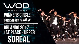 Nonton Soreal   1st Place   World Of Dance Orlando 2017   Winners Circle    Wodfl17 Film Subtitle Indonesia Streaming Movie Download