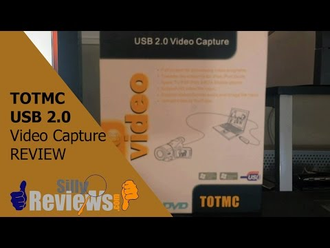 TOTMC USB 2 0 Review (Video Capture Device) (Convert VHS to Digital)