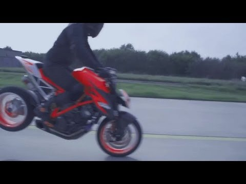 raptorama - 2013 KTM 1290 SuperDuke R Prototype official action video http://www.facebook.com/Raptorama.