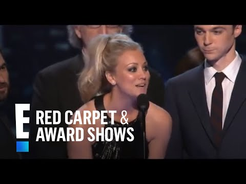 PCA 2010: The cast of The Big Bang Theory accepts the award for Favorite ...