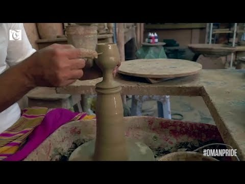 Video: Traditional skills like pottery are alive and well in Oman