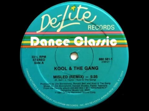 kool & The Gang - Misled (Remix)