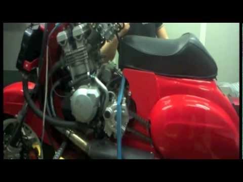 vespa 600cc special - dyno test