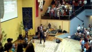 Davi Sacer Na Igreja Do Nazareno Em Campinas