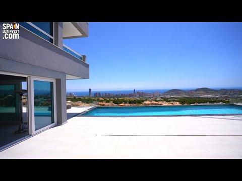 1475000€/Элитная вилла в Испании/Виллы в Бенидорме/Недвижимость Премиум-класса/Люкс/Сьерра Кортина