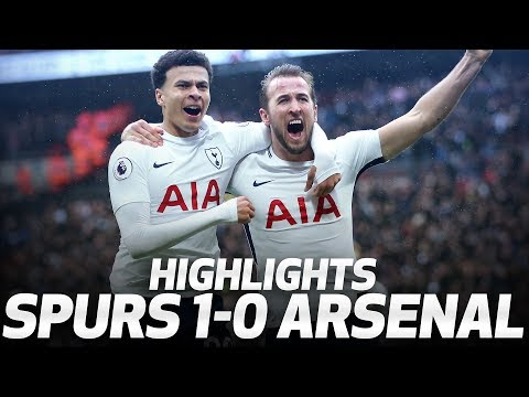 Video: HIGHLIGHTS | SPURS 1-0 ARSENAL