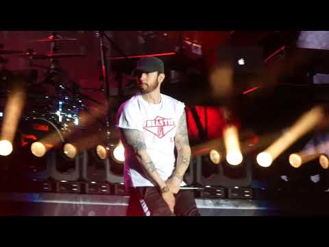 """My Name Is & Real Slim Shady & Without Me"" Eminem@Firefly Festival Dover, DE 6/16/18"