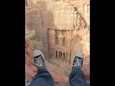 Exploring Petra, Jordan