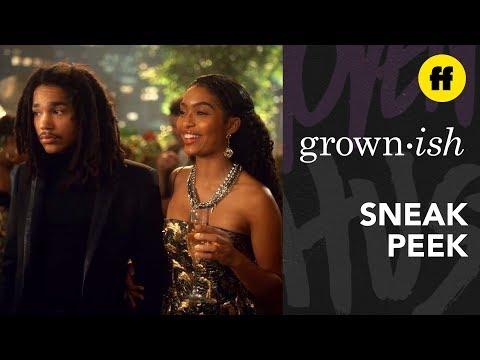 grown-ish Season 2, Episode 20 | Sneak Peek: Aaron's Black Minds Matter Event | Freeform