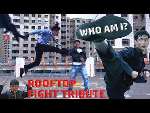 Jackie Chan's Who Am I rooftop fight tribute