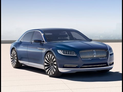 2016 New Lincoln Continental '2015-2017 Review