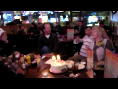 Moms 70th video singing happy birthday