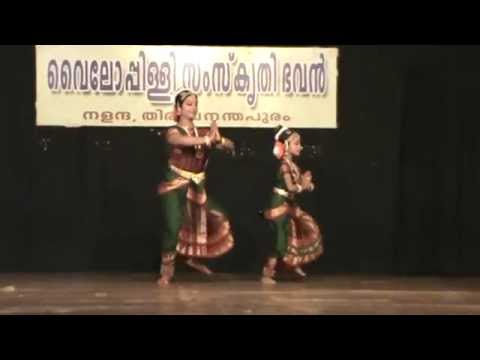 Sandhya   Nair    And  Her    Daughter  - Mayoori  Krishna    Bharathanatyam    Recital ..........