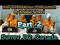 "Inter School Kirtan Competition 2019 part 2 ""live Broadcast"""