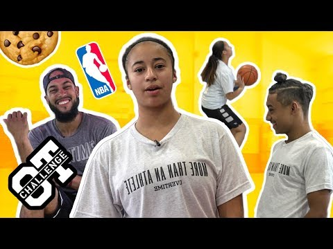 Jaden Newman Outshoots LAMELO BALL In The Overtime Challenge! First Female In The NBA!?