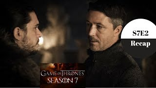 Game of Thrones Recap - Season 7 Episode 2 - Stormborn - Spoilers. The Dork Lords discuss episode 2 of Season 7.