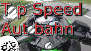 10. Kawasaki Ninja 300 2014 SE - Autobahn Top Speed Runs
