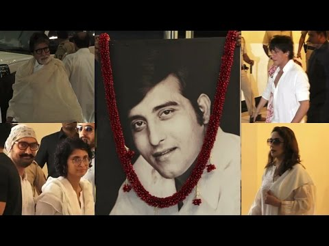Amitabh Bachchan | Aamir Khan | Shah Rukh Khan | At Vinod Khanna Prayer Meet