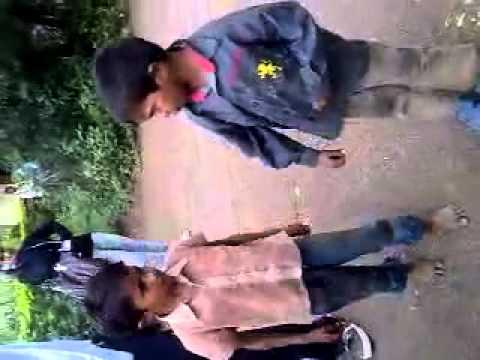 nepali shayari - small boys singing and doing shayari.