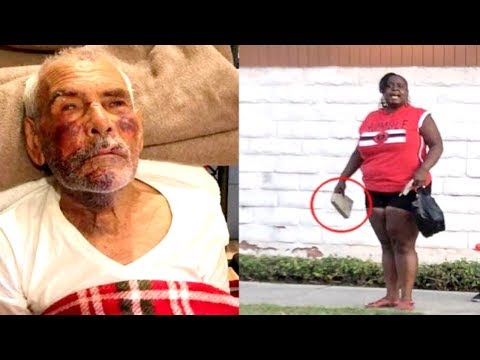 Los Angeles Woman Arrested For Attacking Elderly Man With A Brick.