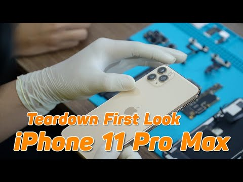 Mổ Bụng iPhone 11 Pro Max Qúa Đỉnh Pin 4000mAh - iPhone 11 Pro Max Teardown First Look