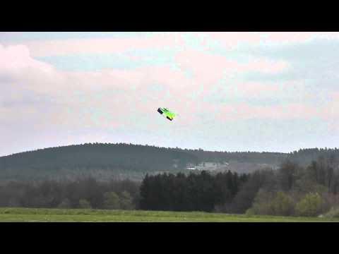 Drachen von Aldi ( Flexwing)umgebaut mit Vektorsteuerung ohne Ruder (TEST)