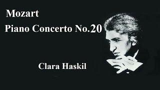 モーツァルトピアノ協奏曲第20番ニ短調k466ハスキル/マルケヴィッチPianoConcertoN0.20Dmol