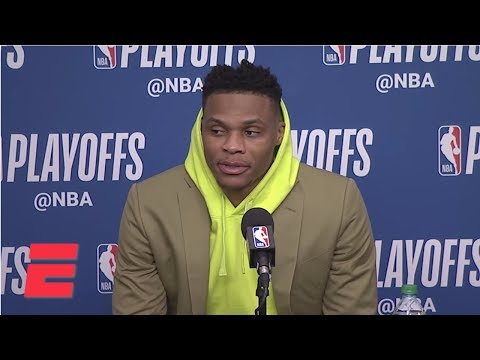 [FULL] Russell Westbrook on Ricky Rubio: 'I'm going to shut that s--- off next game'  NBA on ESPN