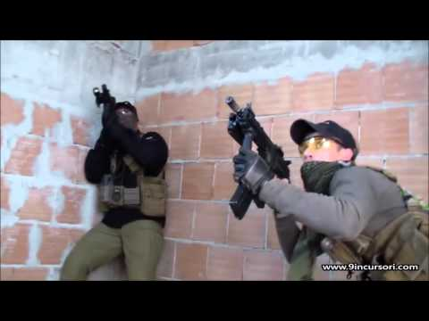 9° Incursori Softair Roma - Video: Close Quarter Combat