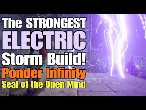 Moustache - Anthem - The STRONGEST Electric Storm Build! (Ponder Infinity + Seal of the Open Mind)