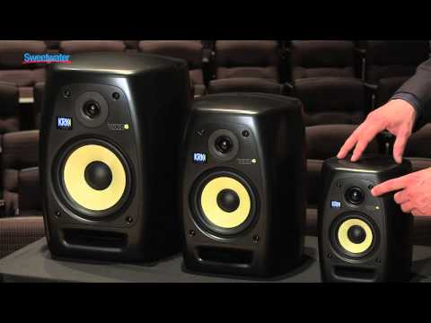 KRK VXT Series Studio Monitors Overview – Sweetwater Sound