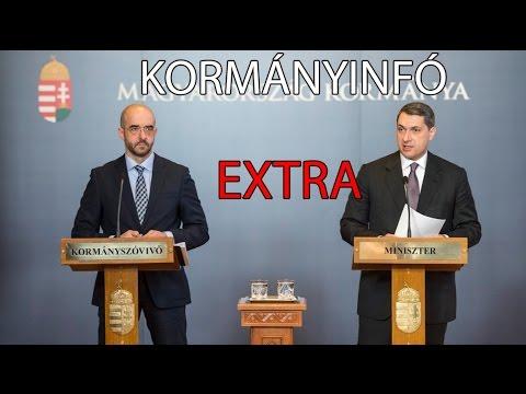 Kormányinfó Extra Kovács Zoltán kormányszóvivővel