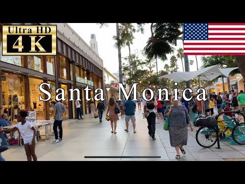 🇺🇸Santa Monica Walk - Third Street Promenade -