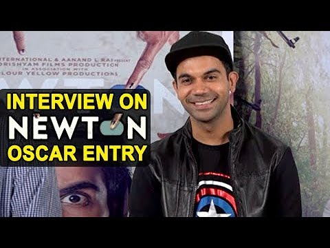 Rajkummar Rao on 'Newton' OSCAR Selection | India�
