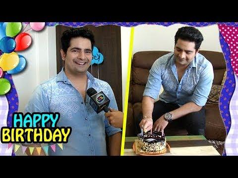 Karan Mehra Celebrates His Birthday